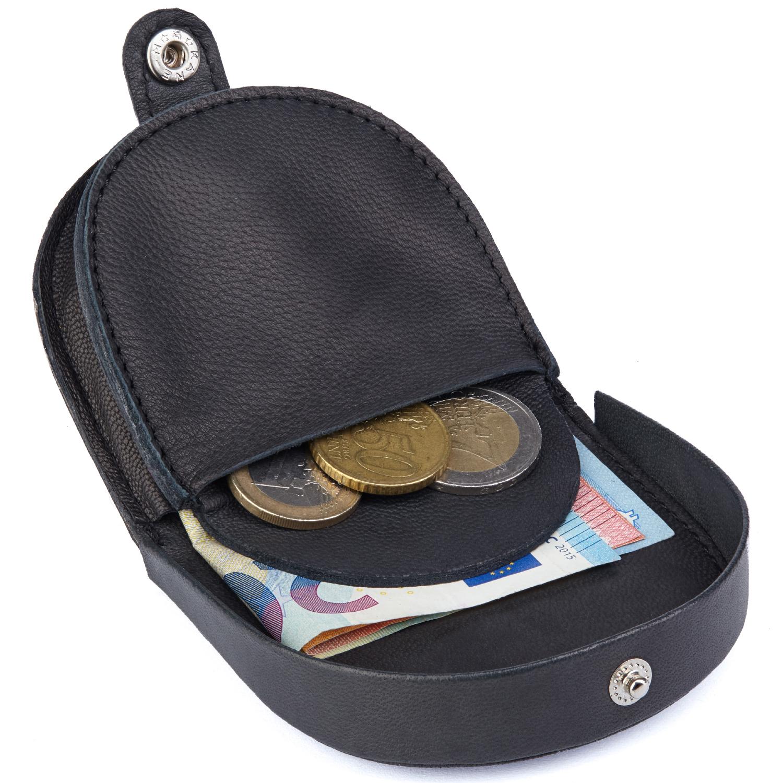 Echt Leder mini Münzbörse bzw. Geldbörse für Kleingeld, Urlaubsbörse