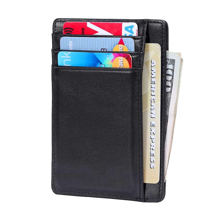 Wildery Kreditkarten bzw. Karten Etui mit Fotofach und RFID, NFC Schutz